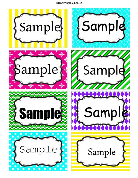 It's just a photo of Candid Colored Printable Labels