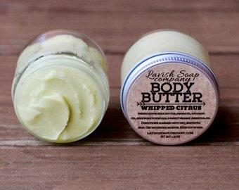 Whipped Citrus Body Butter