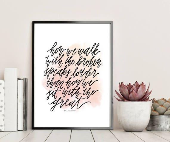How We Walk With The Broken Print