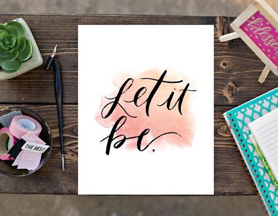 Let It Be Print