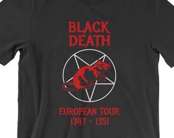 Henry VII Black Death European Tour T-Sh