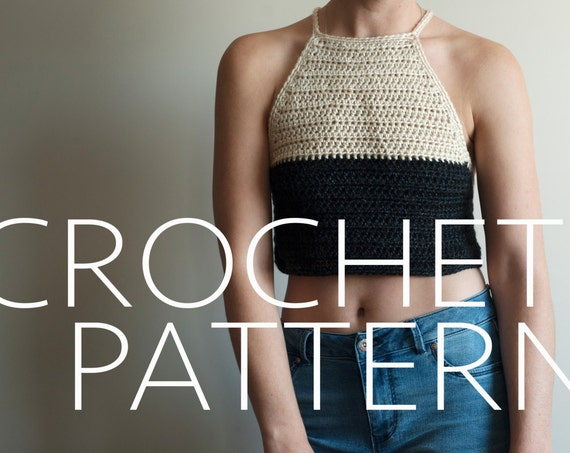 Racerback Crop Top CROCHET PATTERN