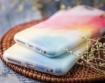 iPhone 6 Plus Case iPhone 6s Plus Case iPhone Case 6 Plus - Sweet Watercolor - Soft Case - Ultra Slim Case - Matte Case - Nyucase Collection