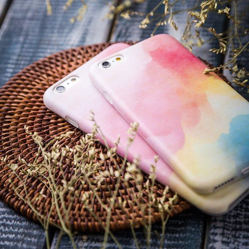 coque iphone 7 plus aquarelle