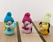 Mommies with Babies Gnome Set of Three (3)