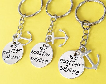 SET OF 3 Friendship keychain - set of three Keychain, set of 3 best friend,set of 3 keychain, keychain, Friendship Distance Gift