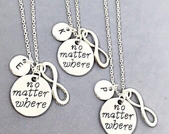 b5ec01f6f84ec Friendship necklace for 3 | Etsy