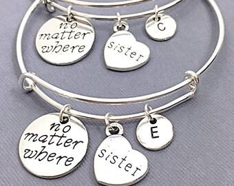 7537a3d0f6a45 Sister bracelets for 2 | Etsy