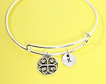 Custom filigree bracelet, filigree bangle, filigree bracelet, silver pendant, personalized, customized, initial, custom gift,silver filigree