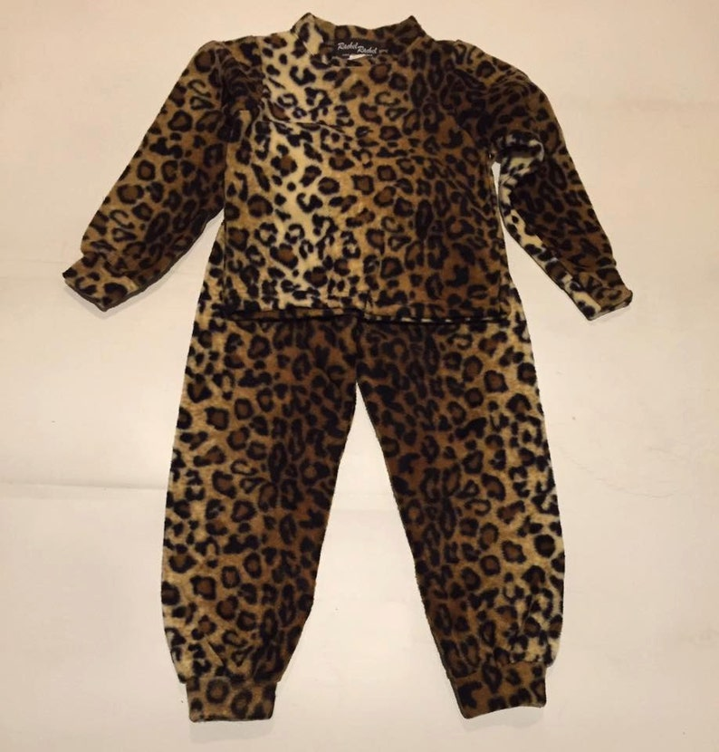 5250f27c39a5 Kids Girls Plush Comfortable Leopard Animal Print Fleece