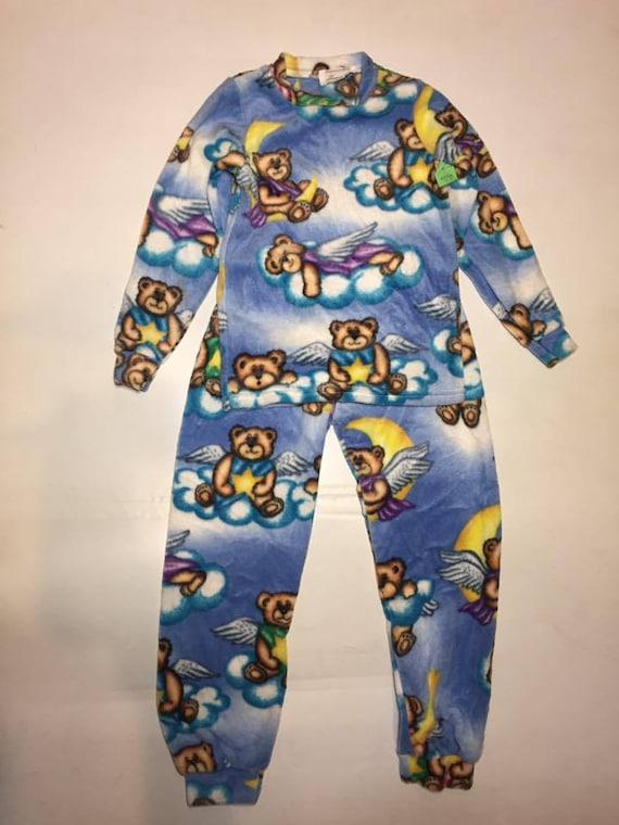 ZooFleece Brown Deer Kids Pajamas Hunting PJs Child Boy 2 Piece Set Hoodie Pants