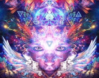 Psychedelic art | Etsy