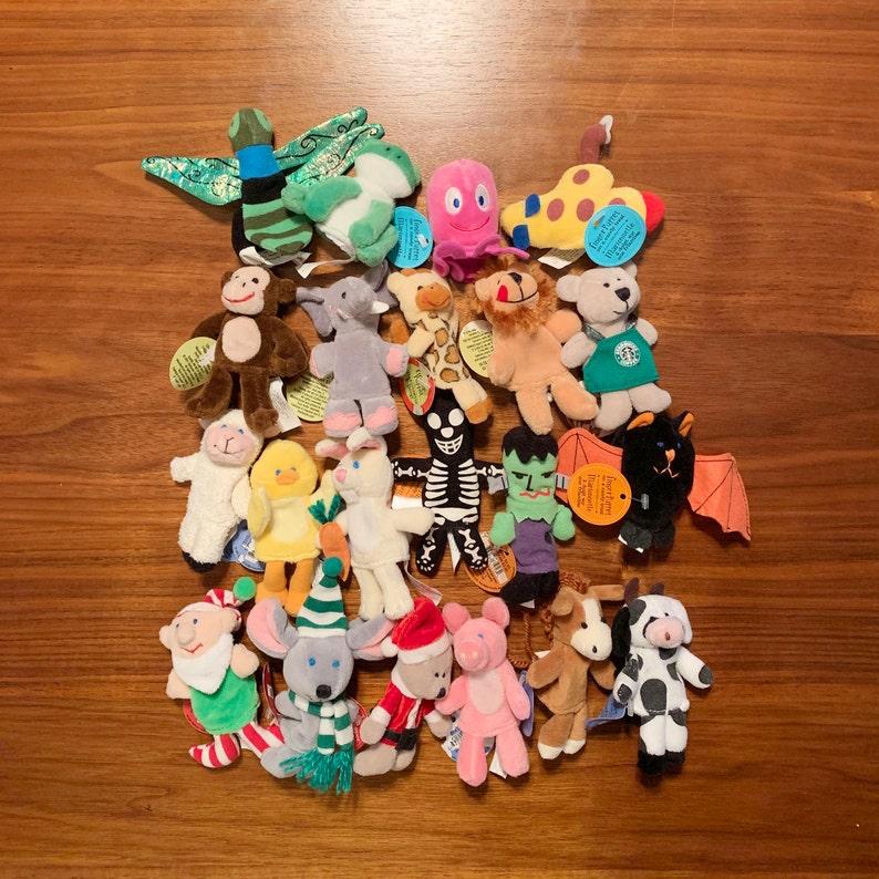 Starbucks Finger Puppet Collection
