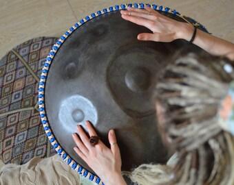 Twice color roped rim case for Hang drum, Handpan, RAV Vast