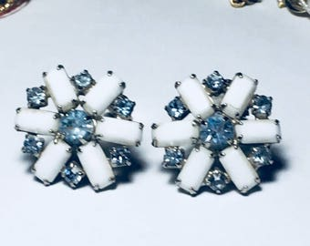 VINTAGED Earring SIGNED WEISS 1950s