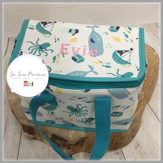 Personalised Mouse Backpack Nursery Bag Powell craft School embroidered