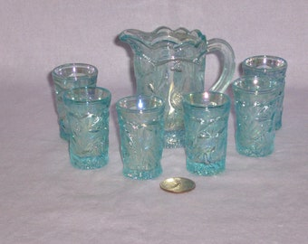 Miniature Pitcher and Glasses