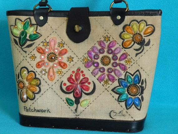 Collins Patchwork Handbag
