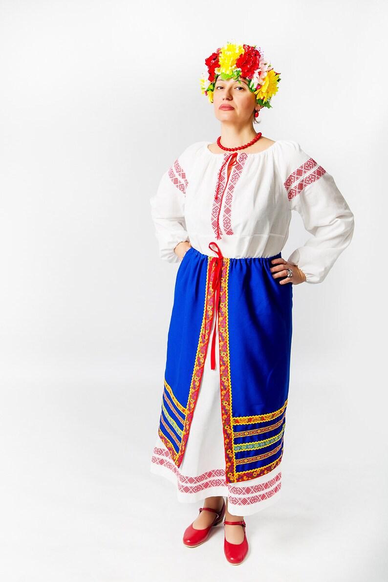 Slave Ukrainienne FilleFemmeПоневаDans Jupe Folklorique Style Pour UkrainienSlaveUne Le y6bfgY7