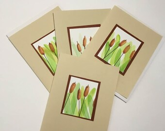 8 Handmade Floral note cards  stationery set  floral cards  stationery gift sets  unique note cards handmade stationery