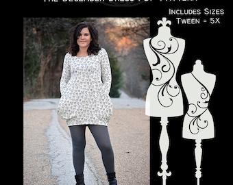 The December Dress PDF Sewing Pattern