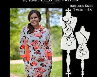 The Rival Dress PDF Sewing Pattern