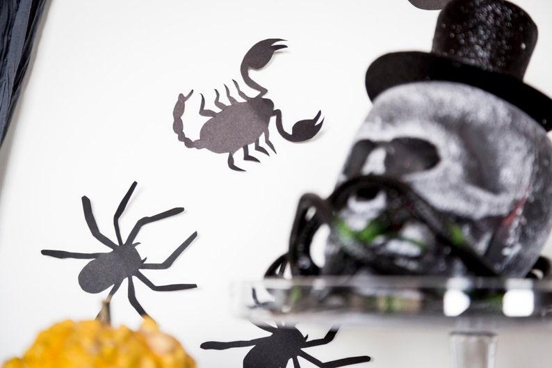 Halloween Wall Decoration    Creepy Bags: Bat Spider image 0