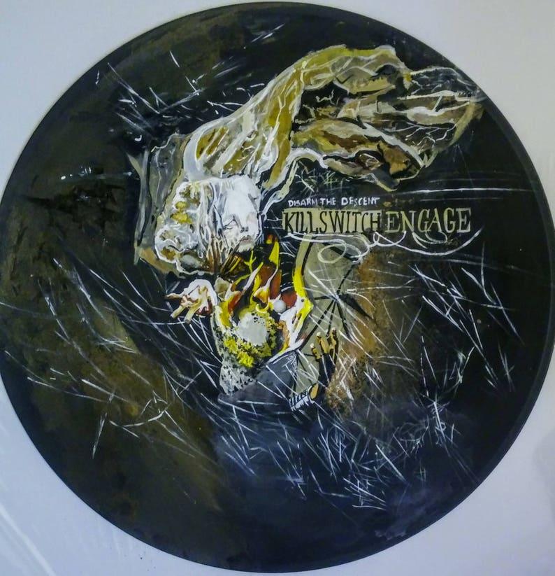 metalcore band killswitch engage disarm the descent album art
