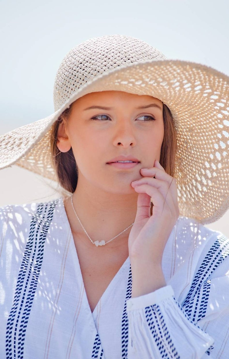 healing necklace Quartz necklace quartz crystal necklace, gemstone choker gemstone choker quartz jewelry gemstone bar necklace
