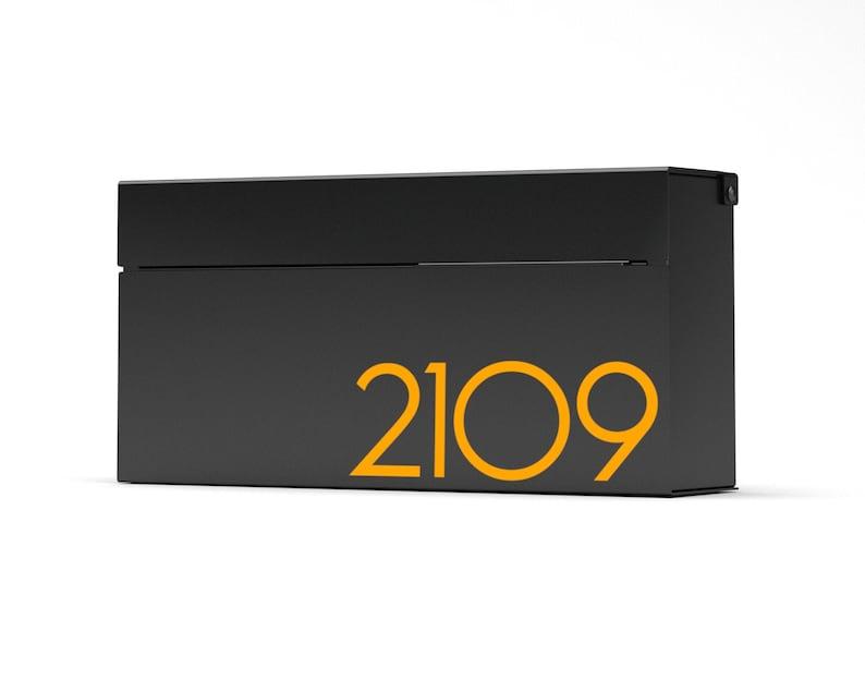 Louis B modern wall mounted mailbox  Vsons Design Original  image 0