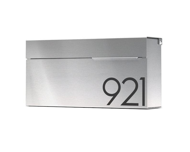 Louis S  modern and contemporary mailbox  Vsons Design image 1