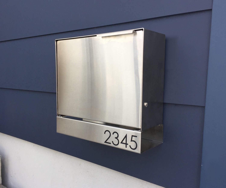 modern mailbox etsy. Delighful Mailbox Modern Mailbox Etsy Zoom Etsy Throughout Modern Mailbox Etsy