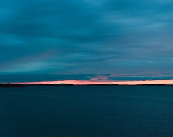 Lake Mendota Sunset Print