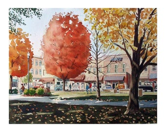 Fall On The Square