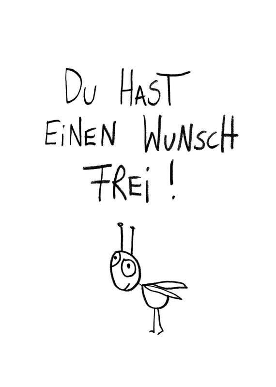 Ein Wunsch Frei