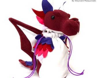 Femme Lesbian Pride Dragon Bagon