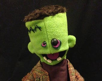 Frankie puppet, made by Son of Jen Puppets, OOAK
