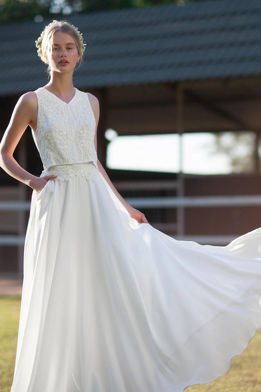 Etsy A Line Wedding Dress