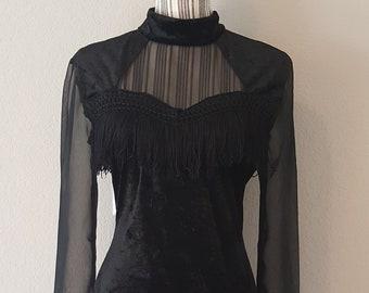 Goth Gothic Style Dress Clothing Victorian Velvet Vintage