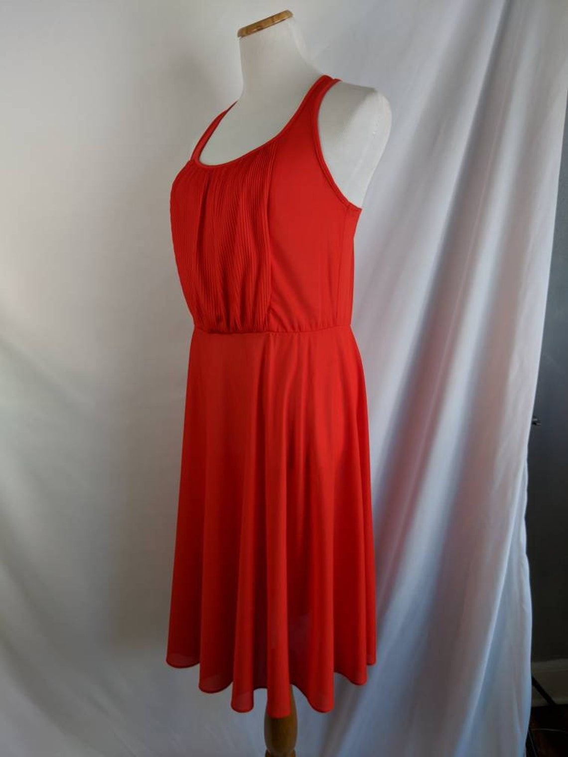 Adorable 2 Piece Set Red Sundress and Bolero by Jerell