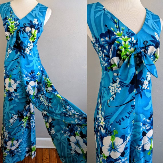 Amazing Vintage Hawaiian Jumpsuit by Holo Holo