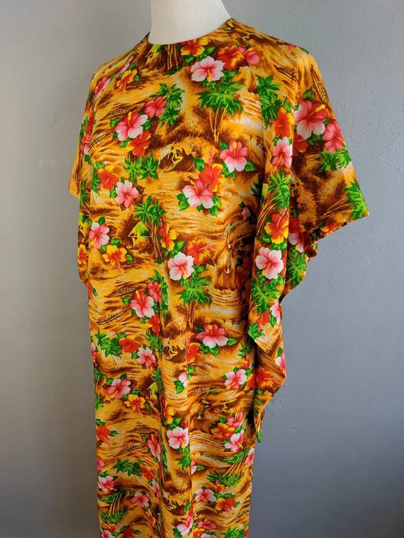 Fab Vintage Hawaiian Pake Muu made in Hawaii - image 5