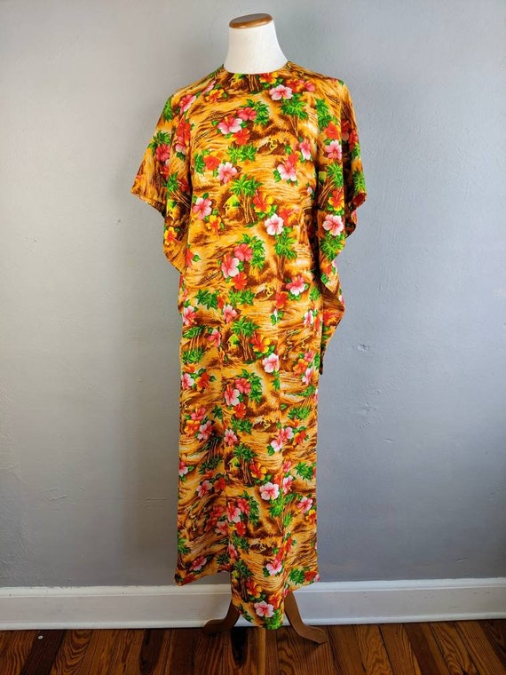 Fab Vintage Hawaiian Pake Muu made in Hawaii - image 4