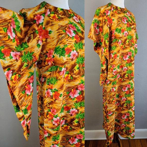 Fab Vintage Hawaiian Pake Muu made in Hawaii