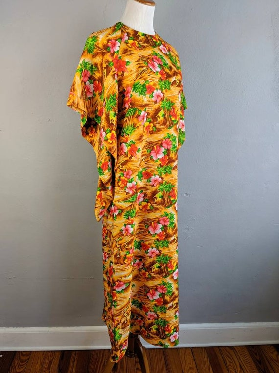 Fab Vintage Hawaiian Pake Muu made in Hawaii - image 2