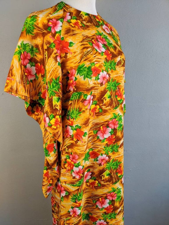 Fab Vintage Hawaiian Pake Muu made in Hawaii - image 6