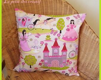"""Pillow cover """"Princess Castle"""""""