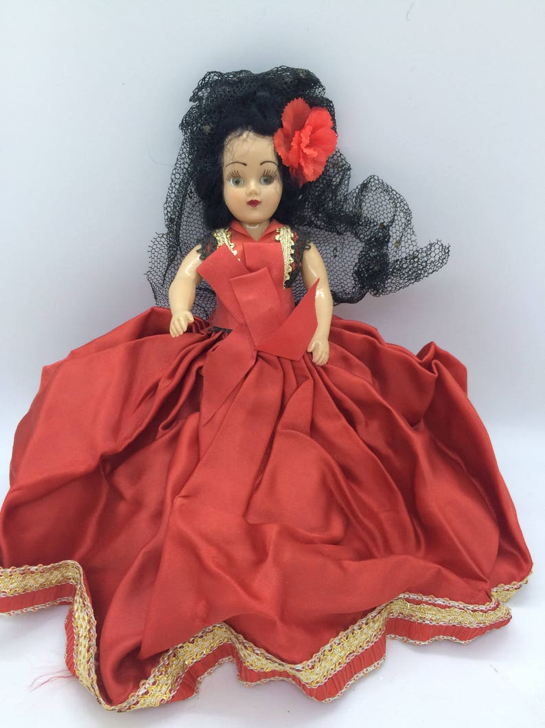 Other Antique Decorative Arts Spanish Doll Antiques