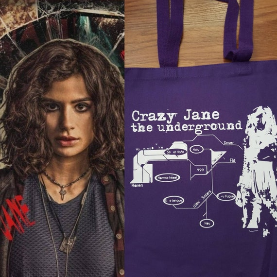 Doom Patrol Crazy Jane The Tote With The Most Personality Etsy