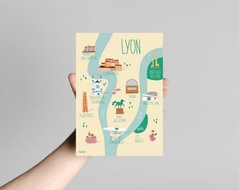 Postcard Postcard Lyon